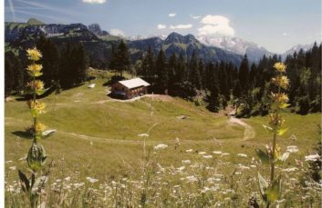 Mountain refuge of Spee