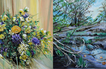 Showcase of the month : Jacky Thibout paintings